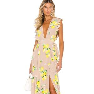 Majorelle Sweet Pea Lemon Dress